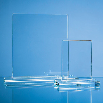 Clear Glass Rectangle Award (15cm x 12.5cm x 12mm)