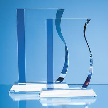 Optical Crystal Blueline Wave Award (23cm)