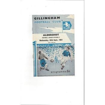 Aldershot Away Football Programmes