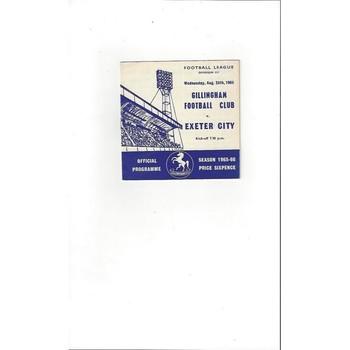 Exeter City Away Football Programmes