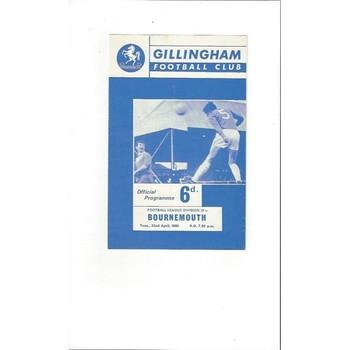 Gillingham Home Football Programmes
