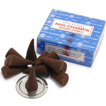 Nag Champa Dhoop Incense Cones
