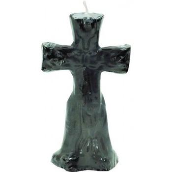 Black Crucifix Altar Ritual Candle