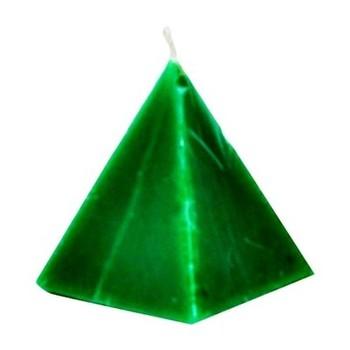 Green Pyramid Candle