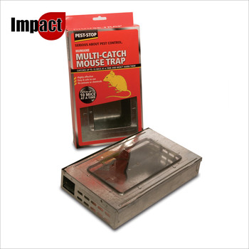 Multicatch Metal Mouse Trap