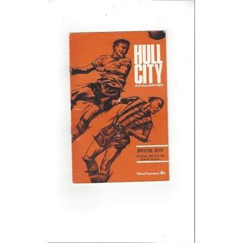 Hull City v Bristol City 1966/67