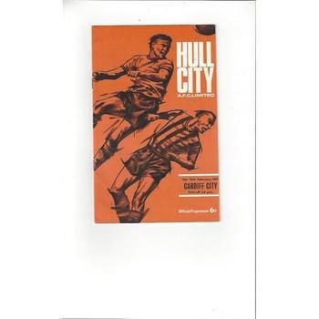 Hull City v Cardiff City 1966/67