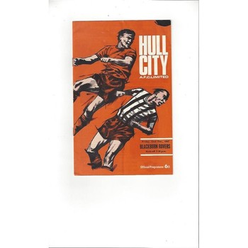 Hull City v Blackburn Rovers 1967/68