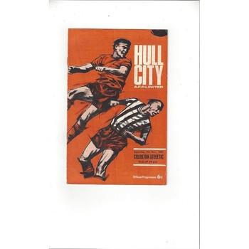 Hull City v Charlton Athletic 1967/68