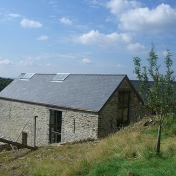 Barn conversion near Caerphilly