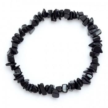 Black Tourmaline Chip Bracelet