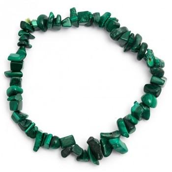 Malachite Chip Bracelet