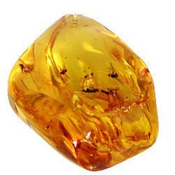 Amber Tumbled Stone