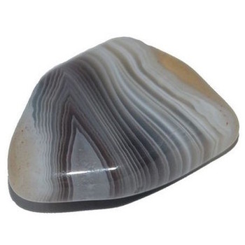 Grey Agate Tumbled Stone