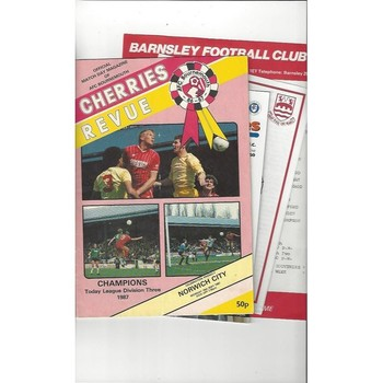 10 X Mixed Friendly Football Programmes 1967/68 to 2001/02 all single items
