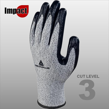 VECUT33G3 KNITTED ECONOCUT GLOVES - NITRILE COATED PALM - GAUGE 13