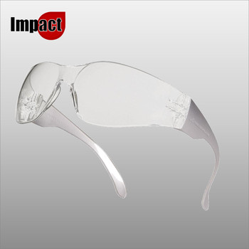 BRAVA2 CLEAR MONOBLOC POLYCARBONATE GLASSES