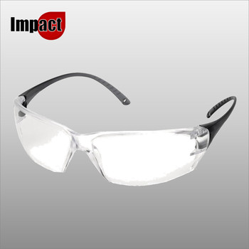 MILO CLEAR POLYCARBONATE SINGLE LENS GLASSES