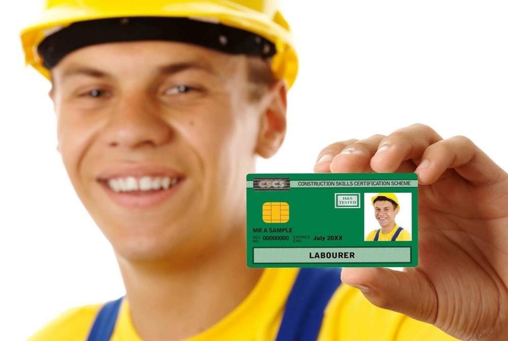 Green Laborer CSCS card-CSCS Test+Mock tests & 1* day QCF L1