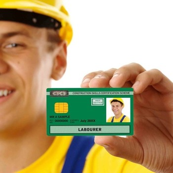 Green Laborer CSCS card-CSCS Test+Mock tests & 1* day QCF L1 H&S Course