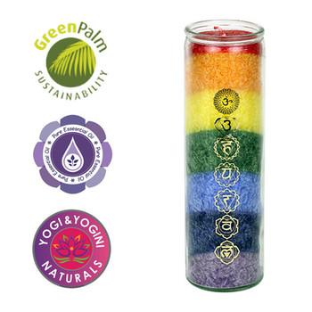 Chakra Rainbow Aroma Candle