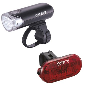 Cateye EL 135 light set