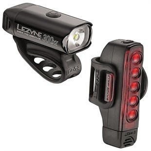 Lezyne Hecto 300 / strip drive rechargeable light set