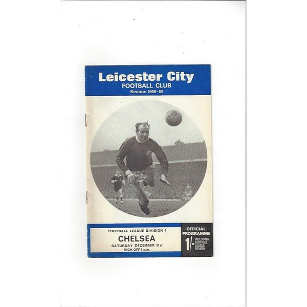 1968/69 Leicester City v Chelsea Football Programme