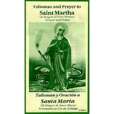 Saint Martha Talisman