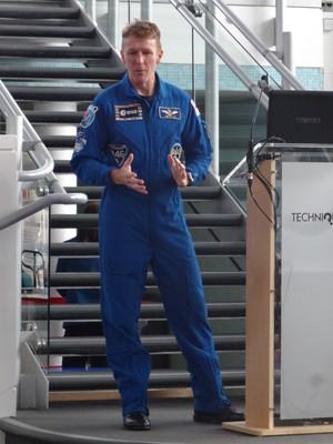 Tim Peake at Techniquest - 13 October 2016