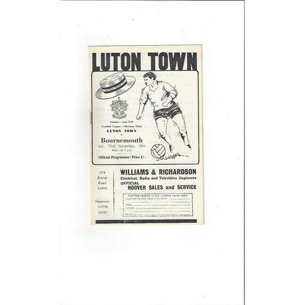 Bournemouth Away Football Porgrames