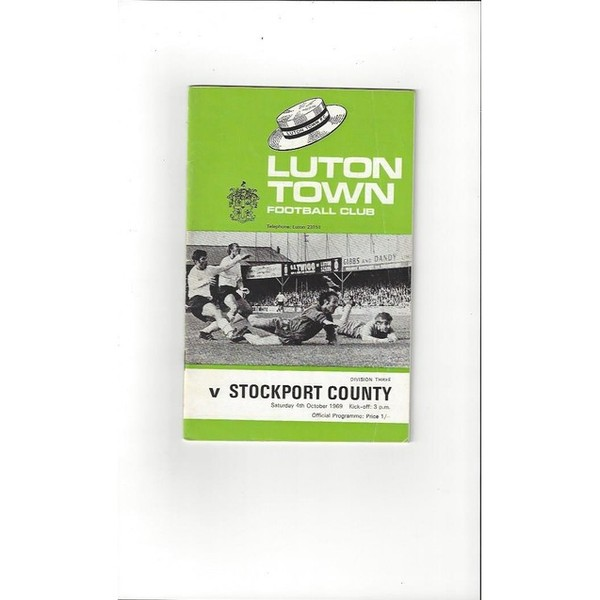Luton Town v Stockport County 1969/70 + League Review