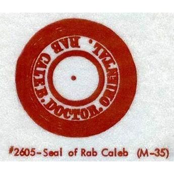 M-35 Seal Of Rab Caleb