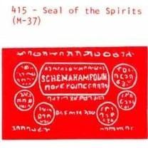 M-37 Seal Of Spirits