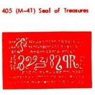 M-41 Seal Of Treasures