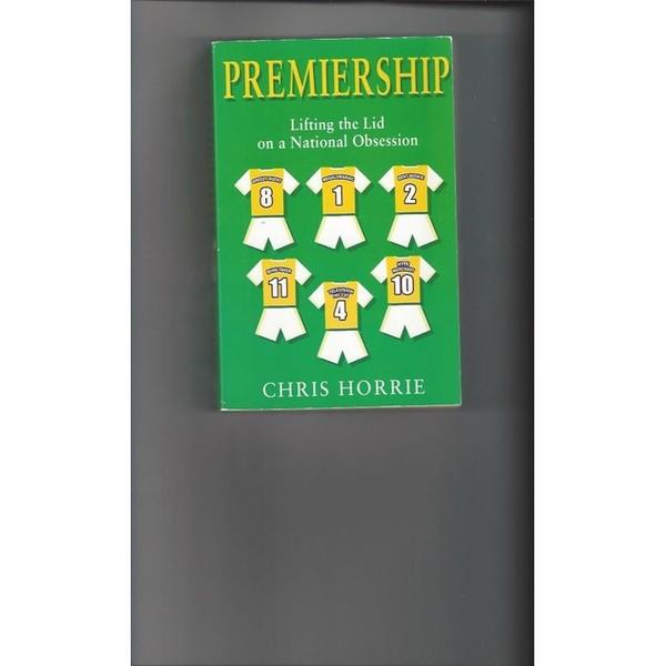 Premiership by Chris Horrie softback Football Book 2002