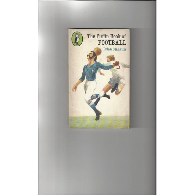 The Puffin Book of Football 1970 Paperback Edition Football Book
