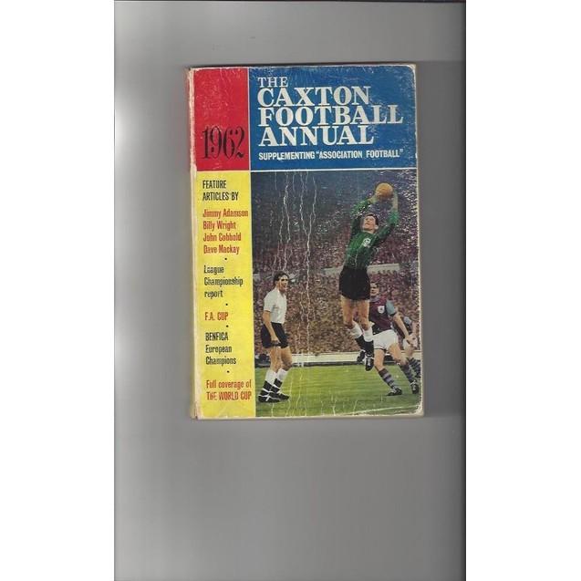 The Caxton Football Annual 1962 Paperback Edition Football Book