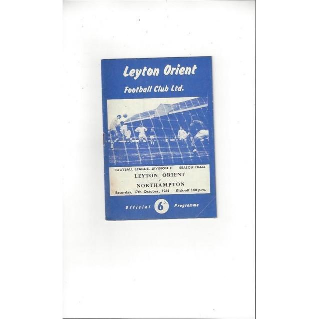 Leyton Orient v Northampton Town 1964/65