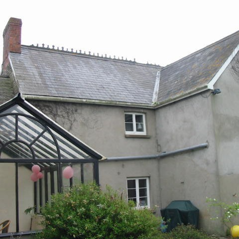 Extensions to an historical house
