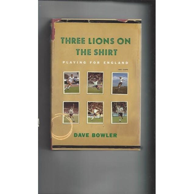 Three Lions on the shirt 1999 Hardback Edition Football Book