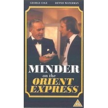 MINDER ON THE ORIENT EXPRESS DVD (1985) Arthur Daley, George Cole, Dennis Waterman