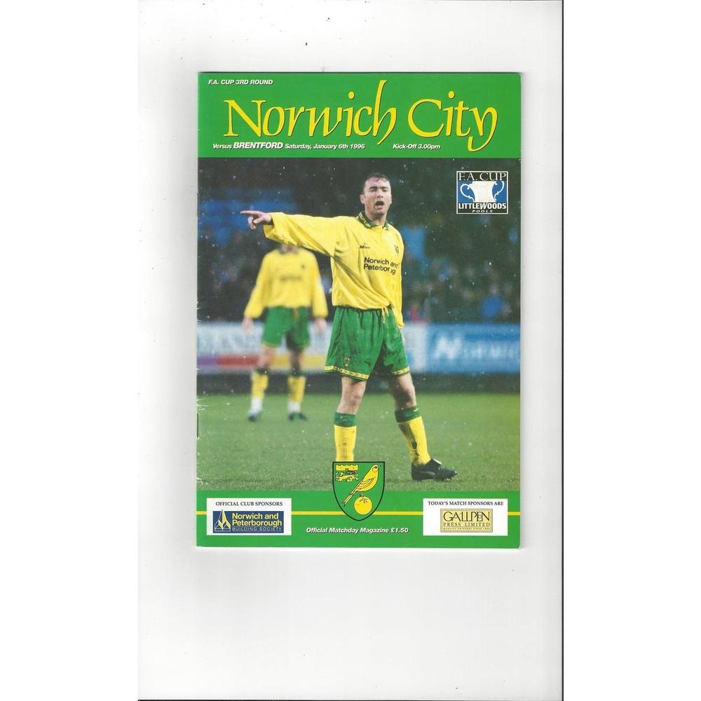 Brentford Away Football Programmes