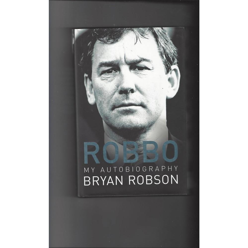Robbo My Autobiography 2006 Hardback Edition Football Book