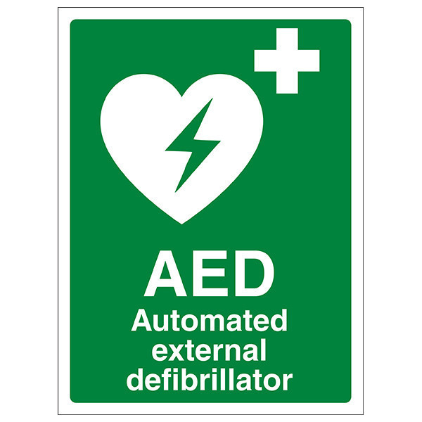 Standard AED Wall Sign