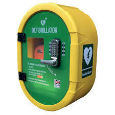 DefibSafe 2 outdoor cabinet