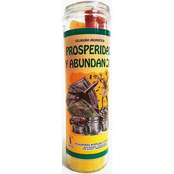 Prosperity Dressed Candle