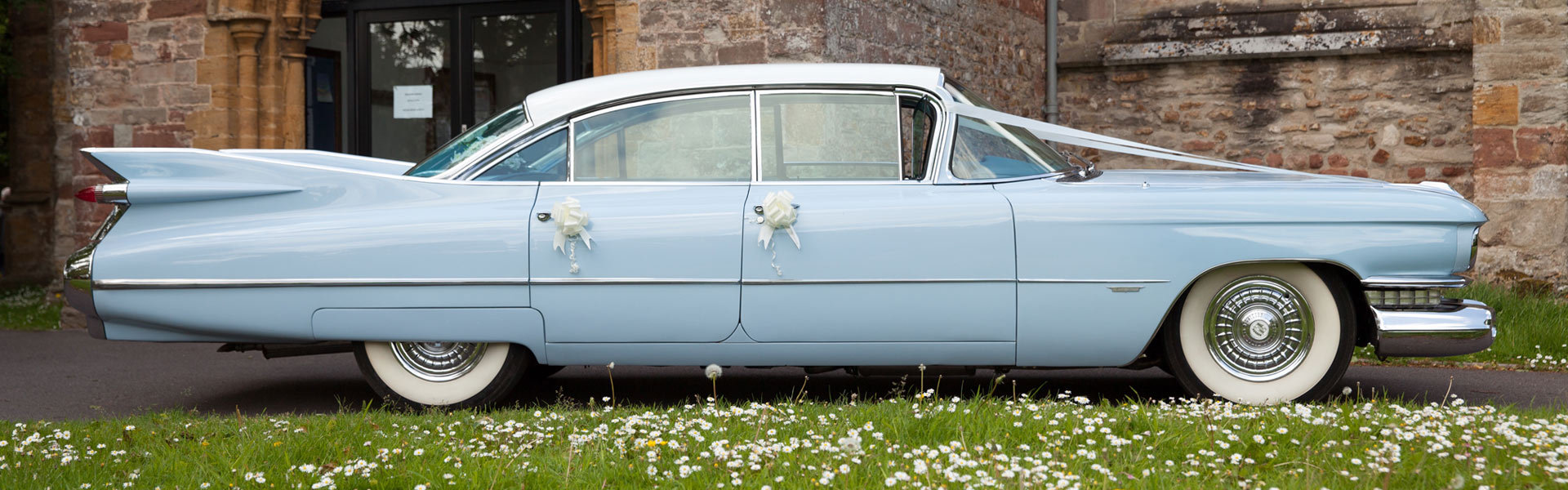 Wedding Cars Somerset, Wedding Cars Devon, American Wedding Cars