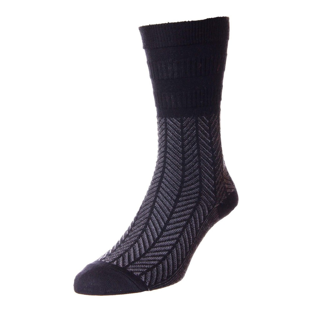 HJ Hall Men's Wool Softop Socks