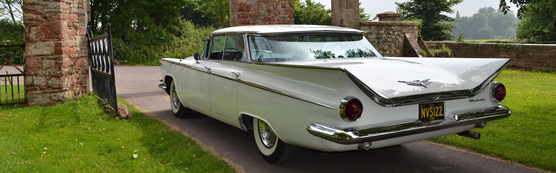 Wedding Cars Somerset, Wedding Cars Devon, American Wedding Cars